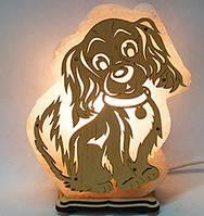 Соляная лампа Собак большая