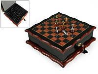 Игра настольная шахматы Lefard 32х32 см 176-004