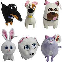 Мягкие игрушки животных