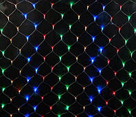 "Гирлянда сетка ""цветная"" 2,5*2,3 м 300 LED, фото 1"