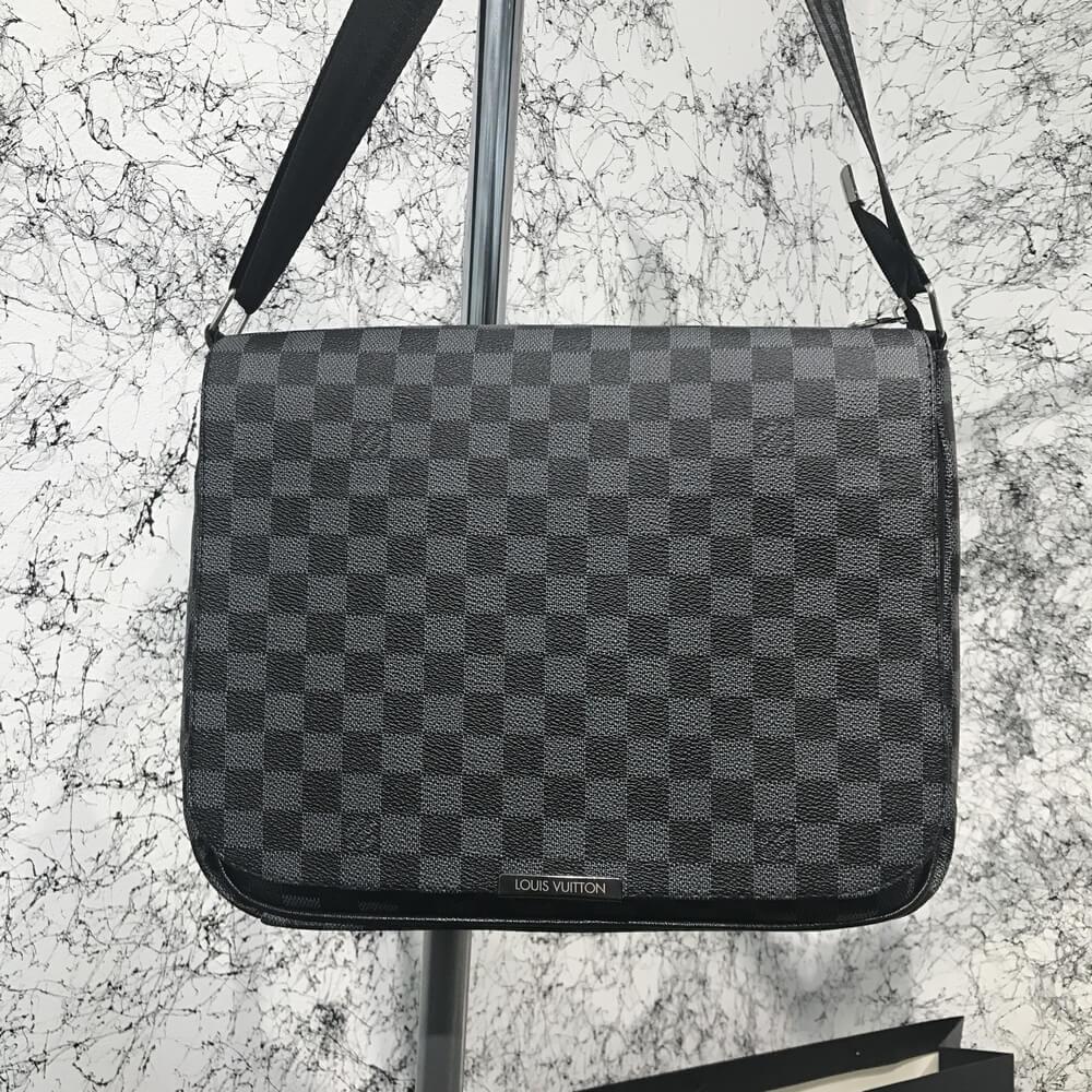 Мужская сумка мессенджер Louis Vuitton через плечо луи витон реплика - Tali  Fashion - стильная одежда 406ca03e997