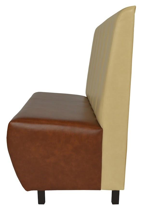 Диван Стайл кожзам Титан Виски/Ваниль (Фото 3)
