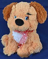 Мягкая игрушка собака с шарфом 2134-25