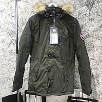 Мужская парка Canada Goose Carson Parka Military канада гус хаки , фото 1