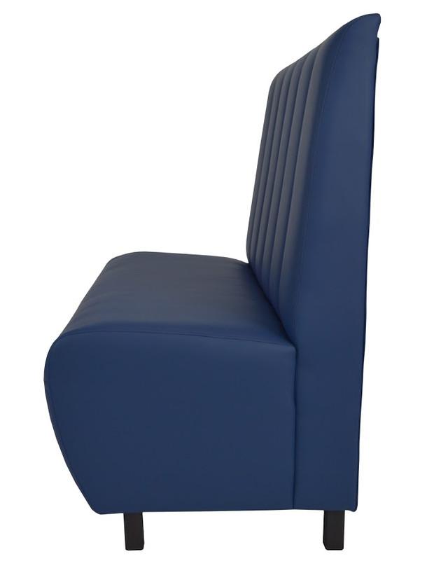 Диван Стайл кожзам Флай 2227 синий (Фото 3)
