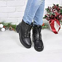 Ботинки женские Balmain кожа Зима (41 размер)