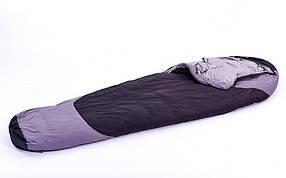 Спальный мешок Кокон SY-089-3 (PL, утиный пух, хлопок, 1700г,р-р 215х78см,тем. реж. от 0 до -20)