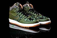 Зимние ботинки Nike Lunar Military - Прескожа,текстиль,  искусственный мех,подошва пена+резина, р-ры 40-44