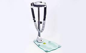 Вибромассажер SOLEX BM-1200GHX-C (р-р 80x58x135см,вес польз.до 100кг,6-ремней,стеклянная подошва)