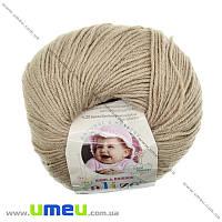 Пряжа Alize Baby Wool 50 г, 175 м, Бежевая 75, 1 моток (YAR-023239)