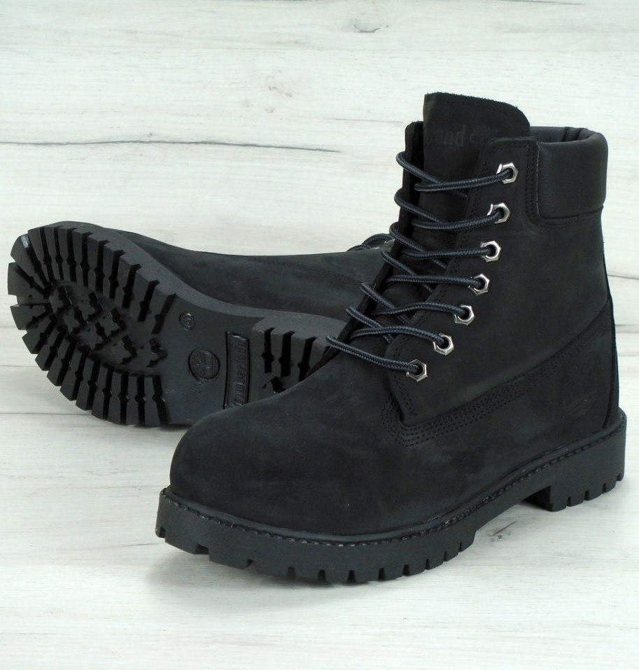 Зимние ботинки Timberland Black с мехом (Реплика ААА+) - Интернет  супермаркет - SoulMarket 88716a406d4
