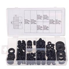 Набор резиновых втулок KR- 6002, кол-во 180 шт, техпомощь, наборы для авто, тех помощь