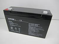 Аккумулятор гелиевый Vipow 6V 12Ah