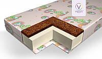 Матрас в кроватку для новорожденных Veres Junior+ 135*60 10 cm для ЛД14 белый