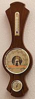 Барометр с гигрометром и термометром Moller 203260 дерево 914591 орех