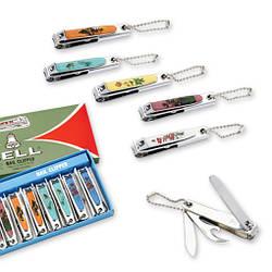 Щипчики (книпсер) для ногтей с открывалкой и ножом.