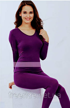 Ультратонкое модальное женское белье, одежда для дома, спорта (XXL), фото 2