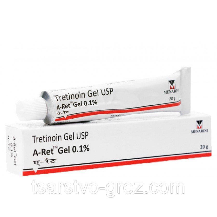 Третиноин гель для проблемной кожи  A-ret gel 0,1%, 20г.