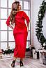 Женское бархатное платье (46-60) 8220, фото 7