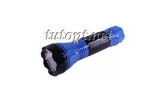 Фонарик аккумуляторный Yajia YJ-1162 1 LED, 2 режима работы - Эконом и обычный