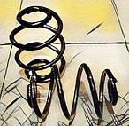 Запчасти для подвески и рулевого управления Калина (пружины, опоры, втулки)