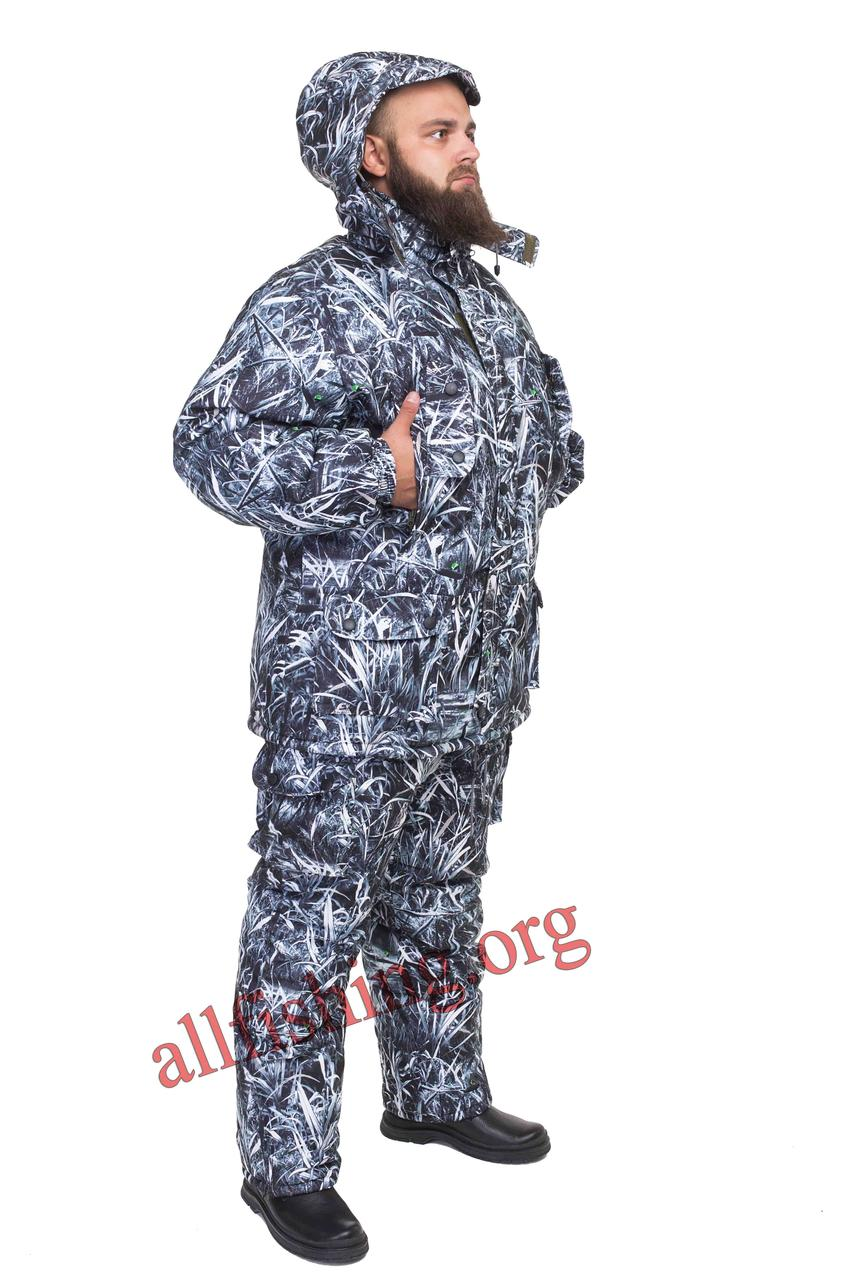 "Зимний костюм для рыбалки ""Белый камыш"""