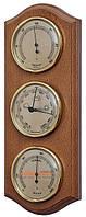 Интерьерный барометр с гигрометром и термометром  Moller 203383 дерево  920106 дуб