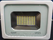Прожектор светодиодный RIGHT HAUSEN LED 50W 4000 Lm 6500K IP65 белый