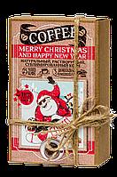 Кофейный набор с шоколадом  «MERRY CHRISTMAS AND HAPPY NEW YEAR»