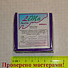 Полимерная глина LEMA Glitter (Лема глиттер), гліттер фіолетовий (фиолетовый), 64г
