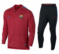 Спортивный костюм Nike FC Barcelona Dry Squad Trainingspak 2017-2018 (854341-660)
