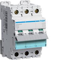 Автоматический выключатель 3P 25kA D-20A 3M