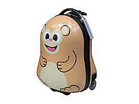 Детский пластиковый чемодан малого размера Sunbag 005