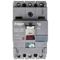 Автоматический выключатель x160, In = 80А, 3п, 25kA, Трег. / Мфикс.