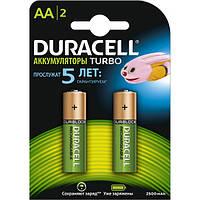 Аккумулятор Duracell HR6 (AA) 2500 mAh 2шт