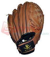 Ловушка-перчатка для игры в бейсбол (искусственная кожа) за 1шт.
