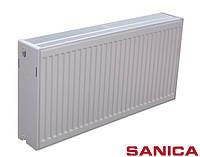 Стальной радиатор SANICA т33 300x1500 бок. подкл.