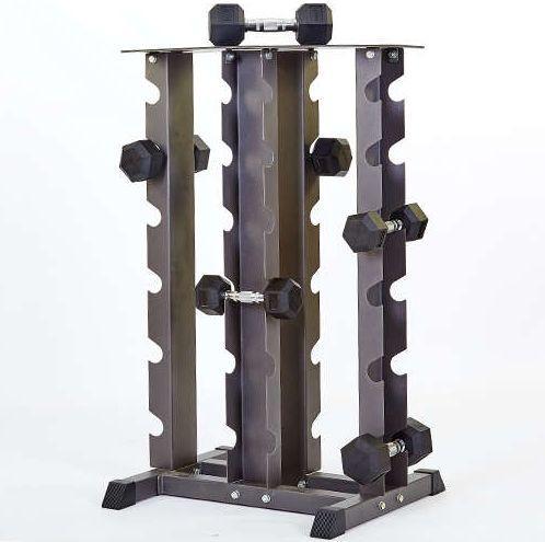 Подставка (стойка) четырехсторонняя для гантелей
