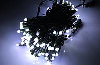 "Гирлянда уличная ""WP ICE"" LED 200 белая соединяющаяся 10м (ч/п)"