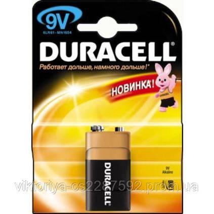 Елементи живлення DURAСELL  Krona bat Alkaline 1шт