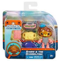 Октонавты ― фигурка Деши с рыбкой хризиптеройфотоапаратомFisher-Price Octonauts, фото 1