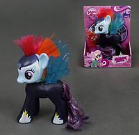 Игрушка Пони-пегас с ирокезом 88274 My Lovely Merry. Музыка, подсветка, фото 1
