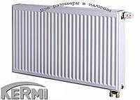 Стальной радиатор KERMI т22 500x1100 нижнее подключение
