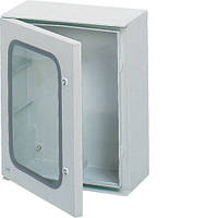Шкаф из полиэстера ORION Plus, IP65, прозрачные двери, 350X300X160мм
