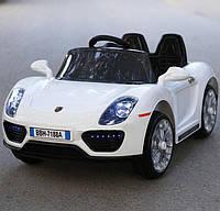 Детский электромобиль аккумуляторный Porsche T-7616 белый