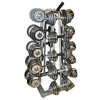 Підставка (стійка) чотиристороння для гантелей