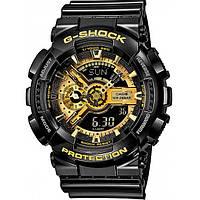 Спортивные часы Casio G-Shock GA-110GB Black-Gold
