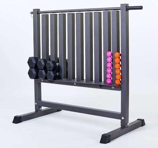 Подставка под гантели для фитнеса на 80 шт.