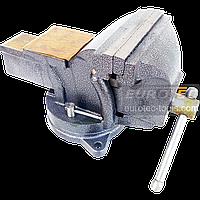 Тиски поворотные 150 мм / 6″ слесарные с наковальней Mar-Pol, тиса, тіски, лещата слюсарні поворотні