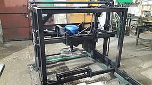 Пилорама  дисковая угловая 7.5 кВт ПДУ-450 для паллетной доски, бруса